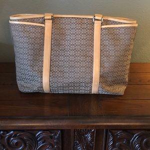 Coach diaper/tote bag